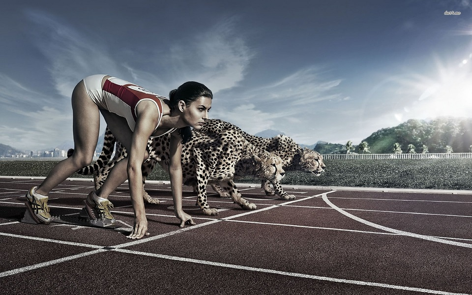 athlete-against-cheetah-running-digital-art-1920x1200-wallpaper261126